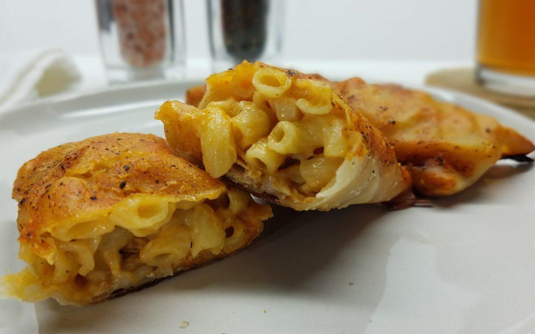 Buffalo Chicken Mac n' Cheese Eggrolls