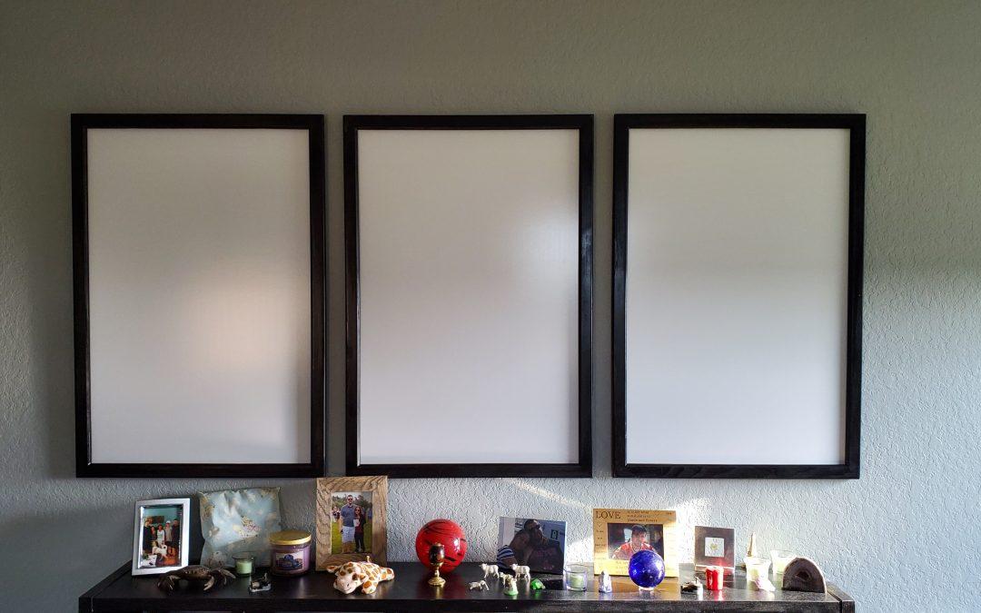 $20 DIY White Board