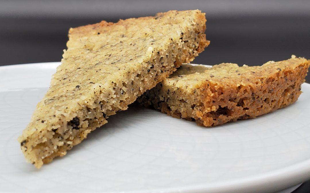 Chewy Earl Grey Shortbread Bars