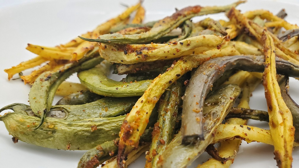 Easy Roasted Green Beans