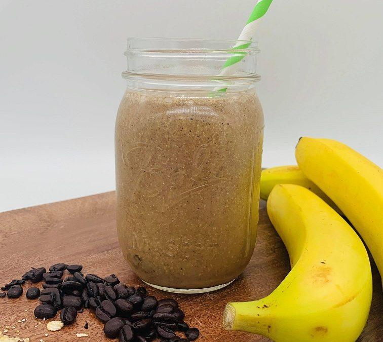 5 Ingredient Coffee Oatmeal Breakfast Smoothie
