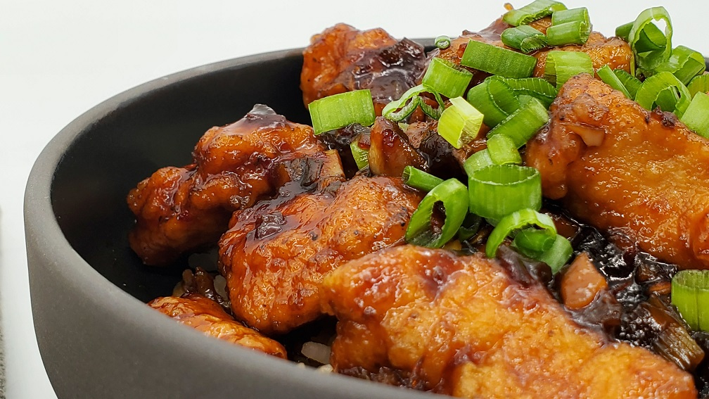Bourbon Chicken with Rice Recipe