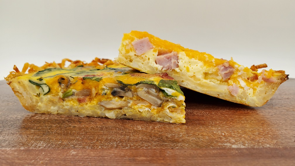 Simple Hash Brown Quiche